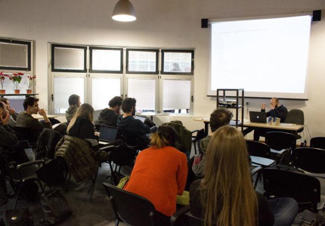 A lezione con Giorgio Bertinelli