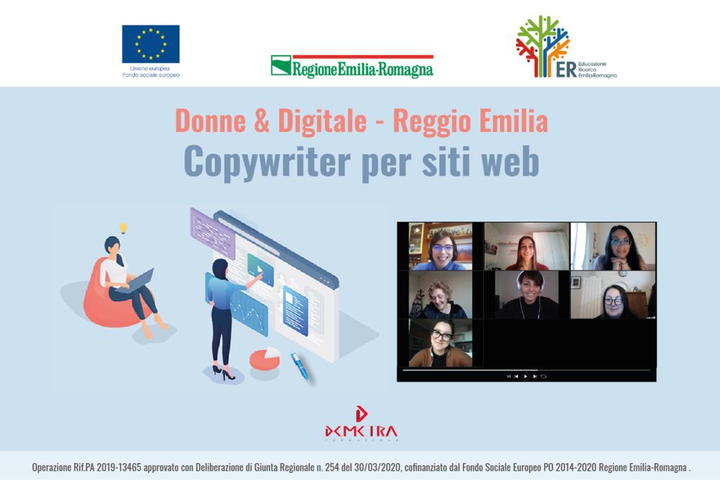 """Allieve corso """"Copywriting per siti web"""""""