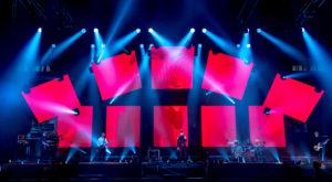 Ledwall mobili al concerto dei Subsonica - Mirco Veronesi